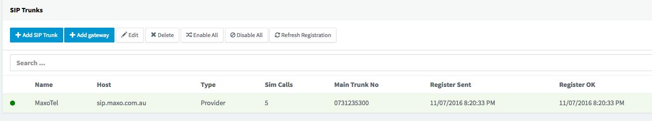 3CX SIP Trunking - MaxoTel / Maxo Telecommunications