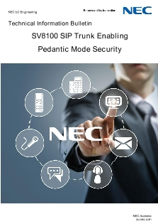 Calls dropping after 30 seconds on NEC PBX - MaxoTel / Maxo