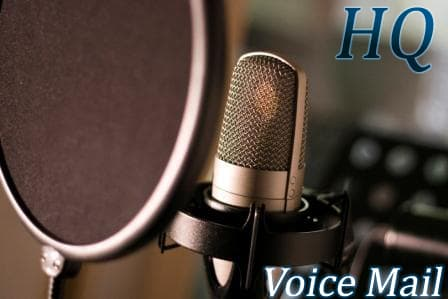 Voice Mail Professional Voice Recording